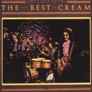 Cream - Strange Brew: The Very Best Of Cream (LP) (VG+/VG)